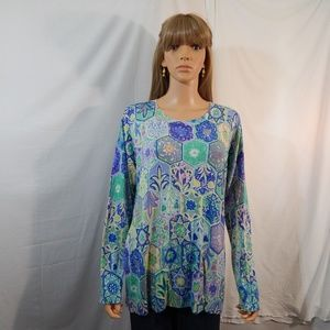 NWT NEW Talbots Size XL 14/16 Top Shirt Sweater